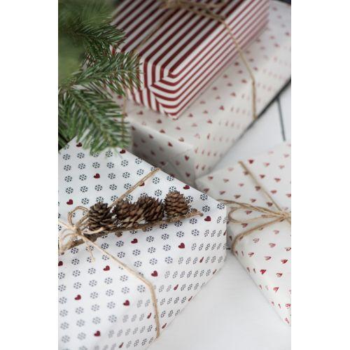 IB LAURSEN / Balicí papír Snowflakes - 10m