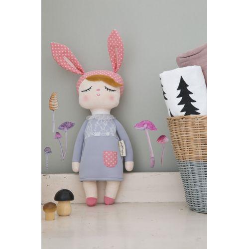 miniroom / Králičia bábika Lille Kanin Grey