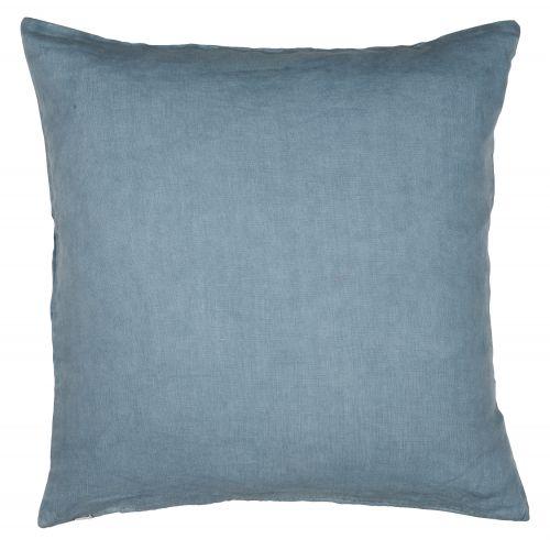 IB LAURSEN / Ľanová obliečka na vankúš Dusty blue 50x50