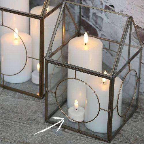 Chic Antique / LED čajová sviečka s batériou White