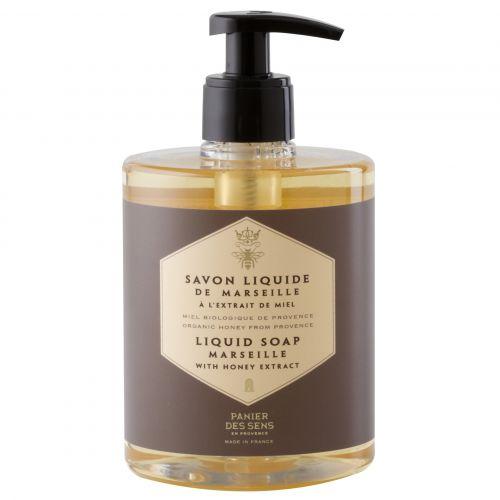 Panier des Sens / Tekuté mydlo s materskou kašičkou - med