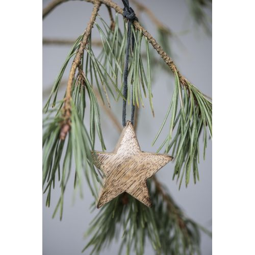 IB LAURSEN / Dřevěná hvězdička Natural