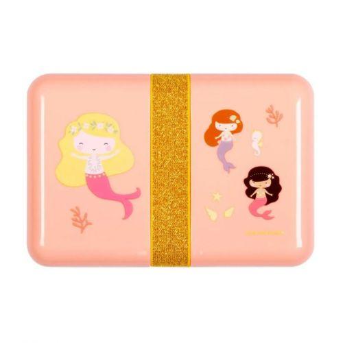 A Little Lovely Company / Desiatový box so samolepkami Mermaids