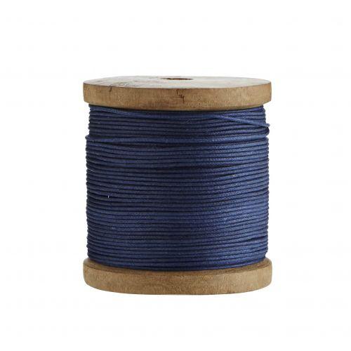 MADAM STOLTZ / Bavlnený povrázok Blue