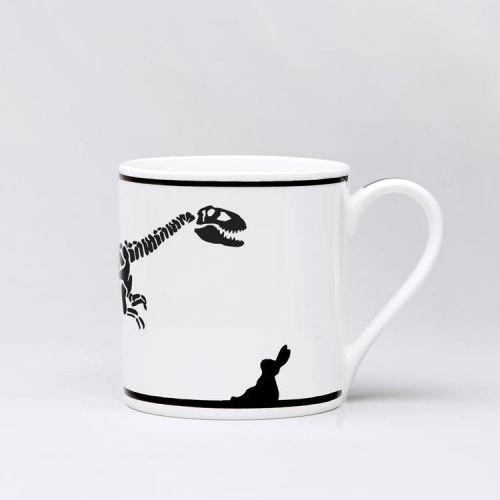HAM / Porcelánový hrnček Dinosaur Rabbit
