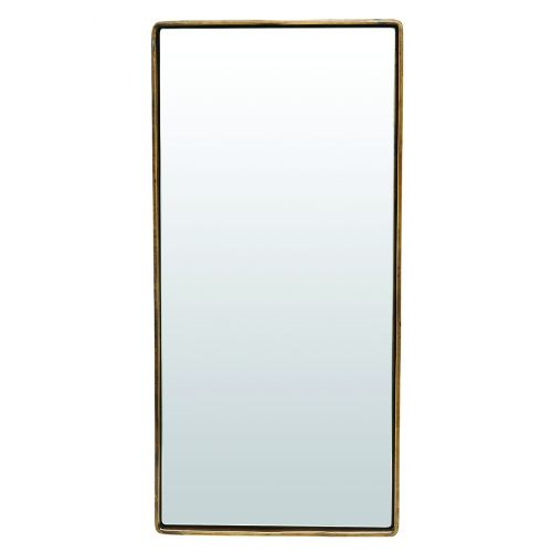 House Doctor / Zrkadlo Reflection Antique brass