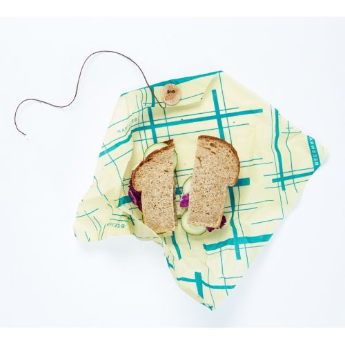 Bee's Wrap / Ekologický potravinový obrúsok Sandwich Green