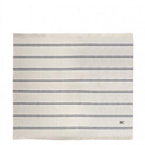 Bastion Collections / Bavlnený obrúsok Naturel Stripe 50×50 cm