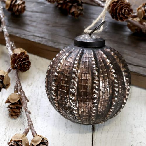 Chic Antique / Vianočná guľa Antique Mocca