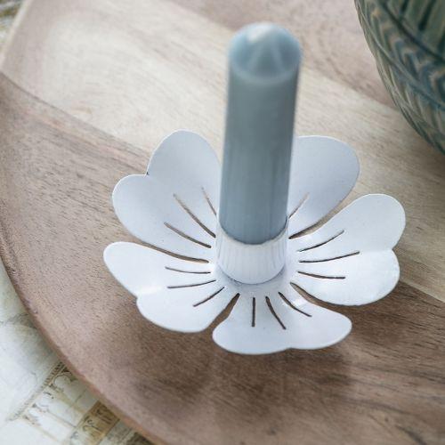 IB LAURSEN / Kovový svietnik White Flower