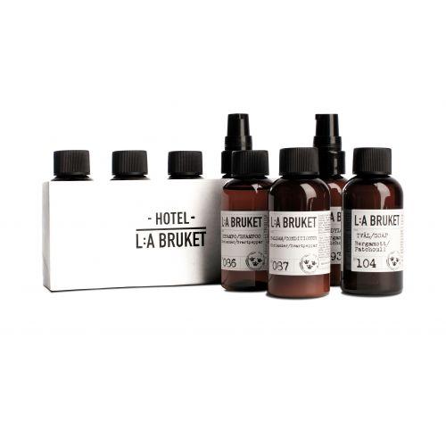 L:A BRUKET / Cestovný kozmetický mini set Travel - 4 ks