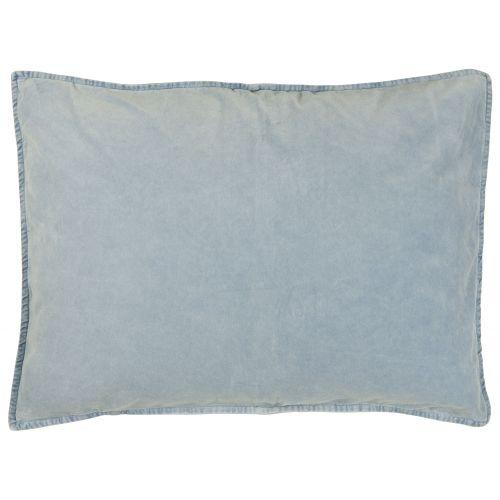 IB LAURSEN / Zamatová obliečka na vankúš Light Blue 70x50