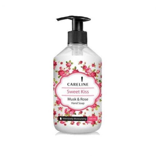 CARELINE / Tekuté mydlo na ruky Sladký bozk - 500 ml