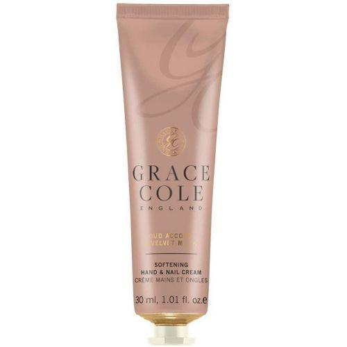 Grace Cole / Krém na ruky Oud Accord & Velvet Musk 30ml