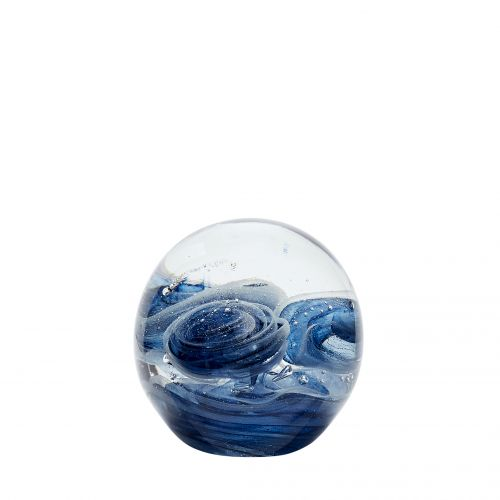 Hübsch / Sklenené ťažítko Glass Blue