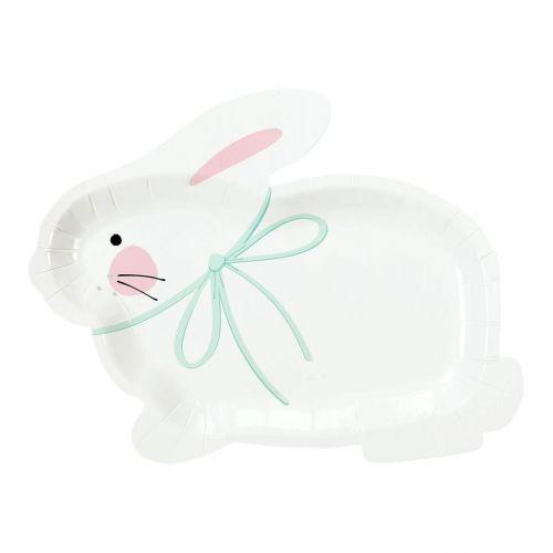 Talking Tables / Veľkonočný papierový tanier Bunny – 8 ks