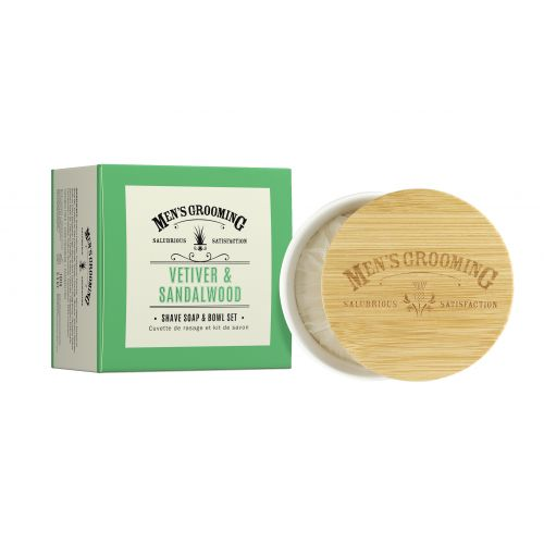 SCOTTISH FINE SOAPS / Pánske mydlo na holenie v dóze Vetiver a santalové drevo 100g