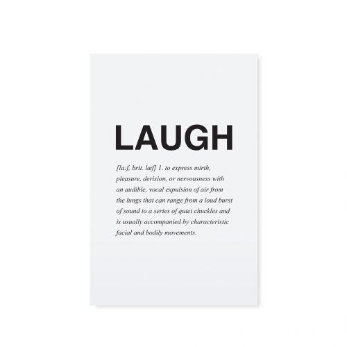 TAFELGUT / Pohlednice Laugh