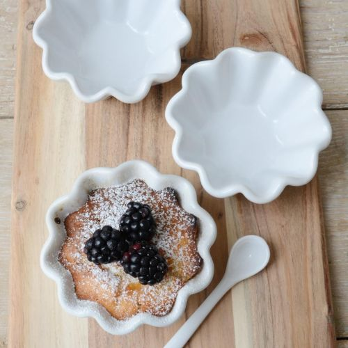 IB LAURSEN / Keramická forma na muffiny Mynte Pure White