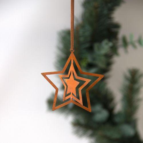 pluto produkter / Závesná dekorácia Rust Star