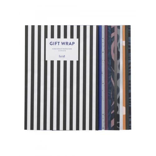 ferm LIVING / Sada baliacich papierov Gift Wrapping Book 11 archov