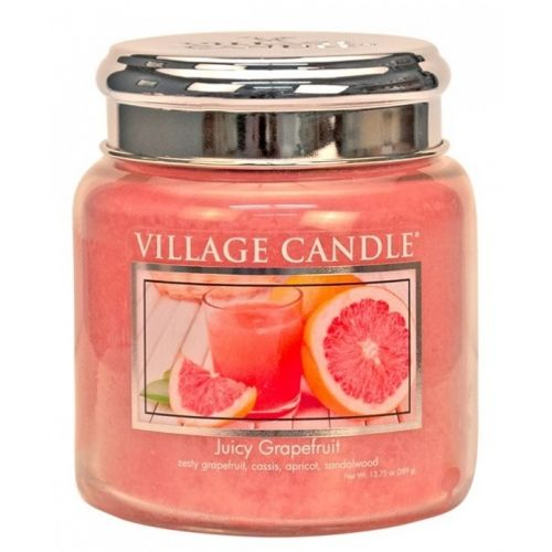VILLAGE CANDLE / Sviečka Village Candle - Juicy Grapefruit 389g