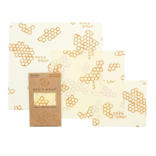 Bee's Wrap / Ekologický potravinový obrúsok-3ks