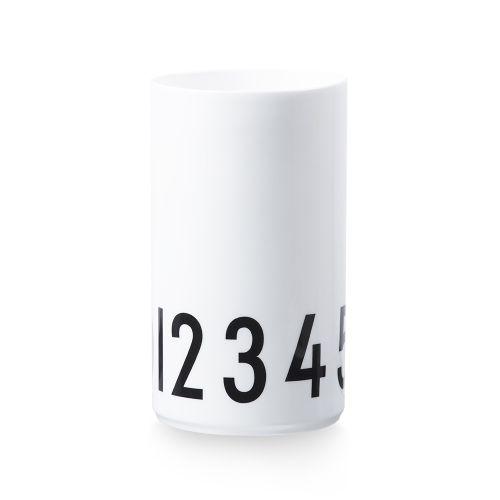 DESIGN LETTERS / Porcelánová váza alebo dóza Numbers 20 cm