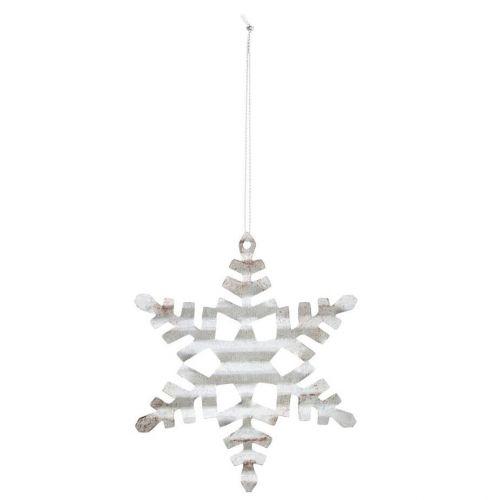 House Doctor / Vianočná ozdoba Silver Snowflake 11,7 cm