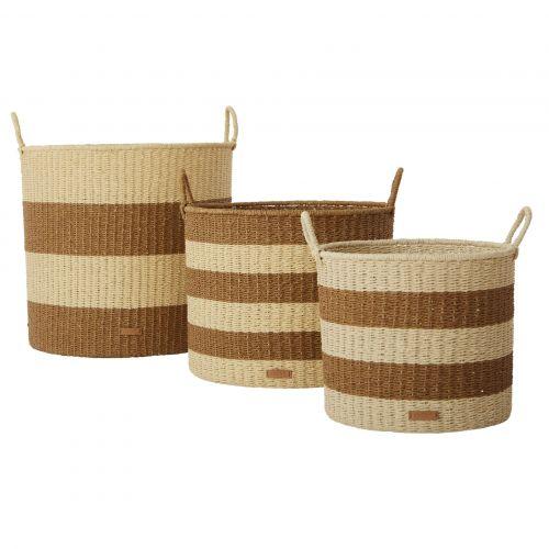 OYOY / Úložný kôš Gomi Cylinder Caramel