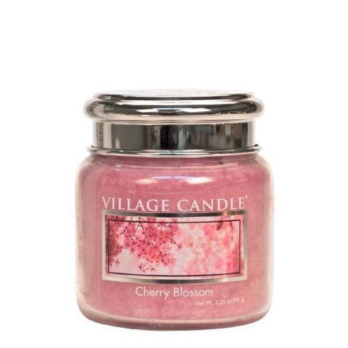 VILLAGE CANDLE / Sviečka Village Candle - Cherry Blossom 92gr