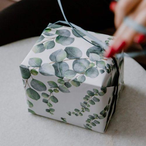 Bella Rose / Baliaci papier Eukalyptus A1 - 3 archy