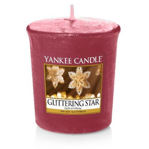 Yankee Candle / Votívna sviečka Yankee Candle - Glittering Star