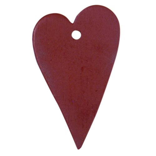 IB LAURSEN / Dekoratívne srdiečko - červené