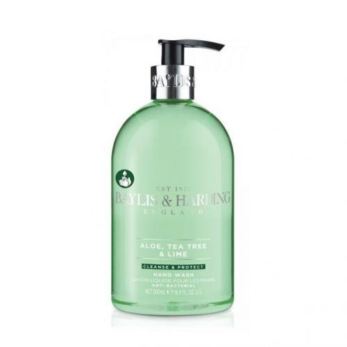 Baylis & Harding / Antibakteriálne tekuté mydlo Aloe, Tea Tree a Limetka - 500 ml