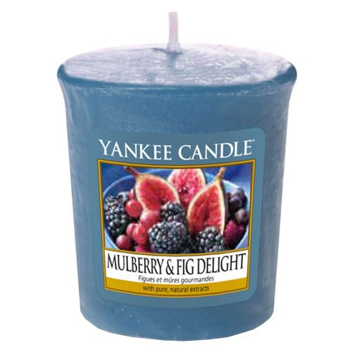 Yankee Candle / Votívna sviečka Yankee Candle - Moruša a figy