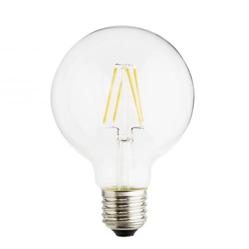 MADAM STOLTZ / Retro LED žiarovka (E27, 4 W) - okrúhla