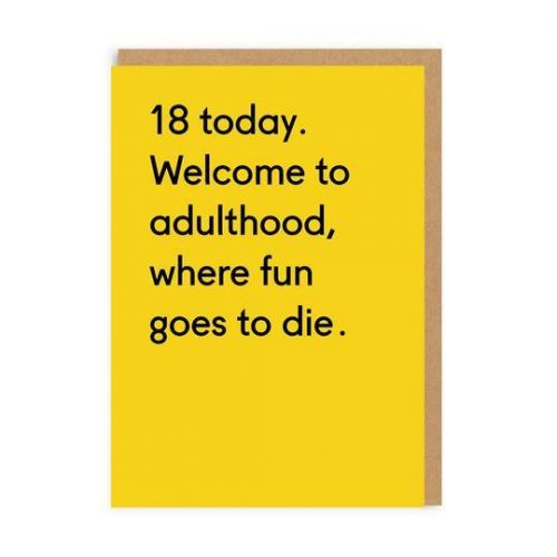 Ohh Deer / Prianie k narodeninám 18 Today