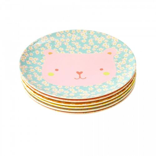 rice / Detský melamínový tanierik Animal