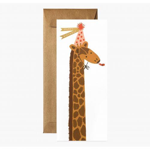 Rifle Paper Co. / Prianie s obálkou Giraffe