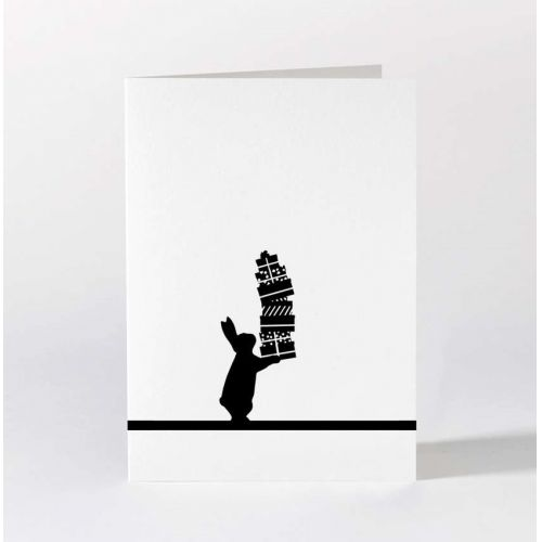 HAM / Čierno-biele prianie Giving Rabbit