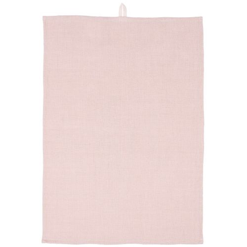 IB LAURSEN / Bavlnená utierka Rose Loosely Woven 50×70 cm