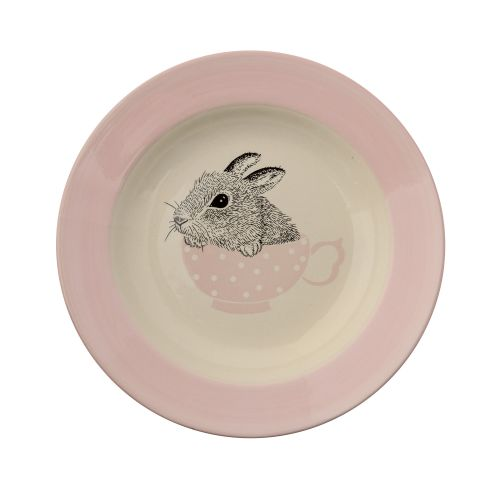 Bloomingville / Polievkový tanier Baby Bunny Nude