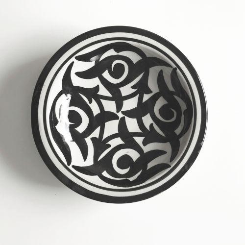 Tine K Home / Keramická miska Black Morocco 25cm