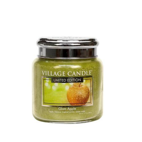 VILLAGE CANDLE / Sviečka Village Candle - Glam Apple 389g