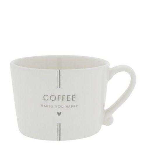 Bastion Collections / Porcelánový hrnček Coffee Makes You Happy 300ml