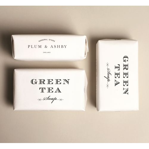 PLUM & ASHBY / Mýdlo Green Tea 200gr