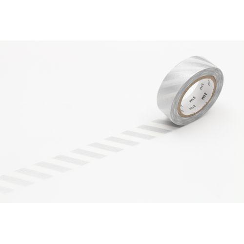 mt / Japonská papierová páska Silver Stripe II.