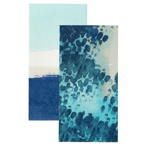 Talking Tables / Papierové servítky Coastal - set 2 druhy