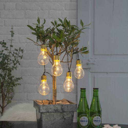 STAR TRADING / Svetelná LED reťaz Glow - 5 žiarovek